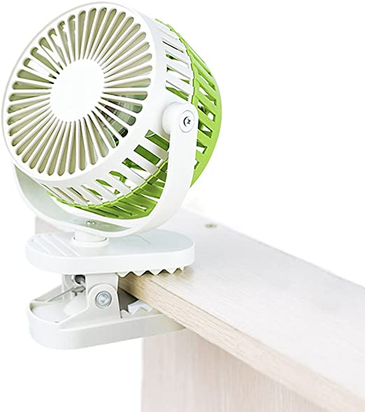 Mini Ventilador USB Silencioso Recargable Ventilador para Silla de ...