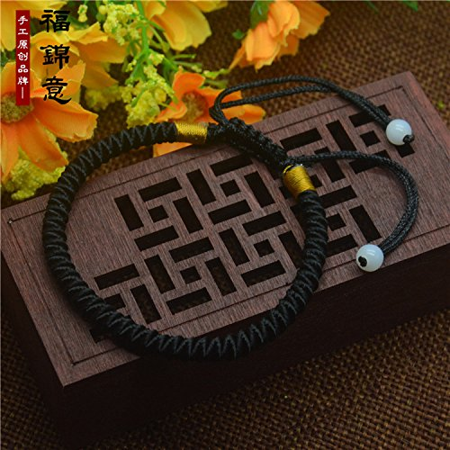 Black snow red string bracelet men and women Bao Kun rope dog zodiac bracelet anklet fine money zodiac dog