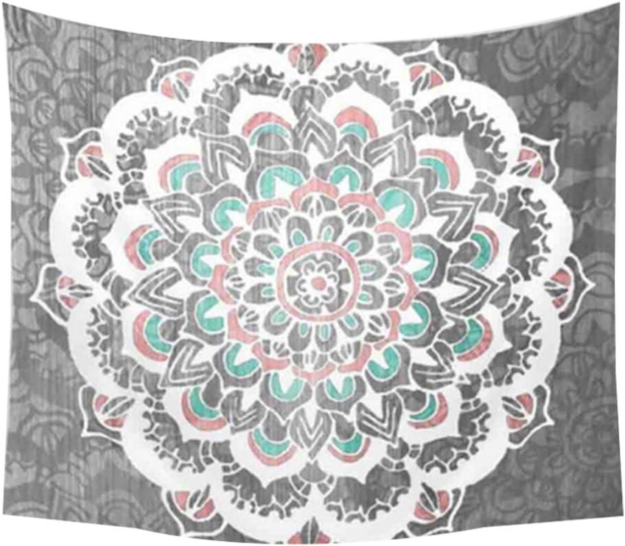 Gespout Tapicería Tapiz Pared Paño Colgar Decorativo Mandala Hippie Hippy Cena Mantel para Viaje Playa Barbacoa Fiesta Actividades Aire Libre Tabla Mat Plegable 1pcs 150 * 130cm 1