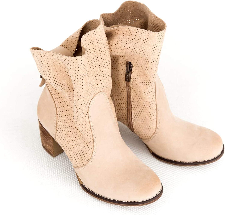 Zapato - Stivali da Donna in Pelle, Modello 496 Bianco