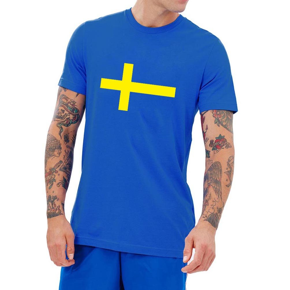 Loo Show Swedish Flag Vintage Style T Shirts Awesome Tee