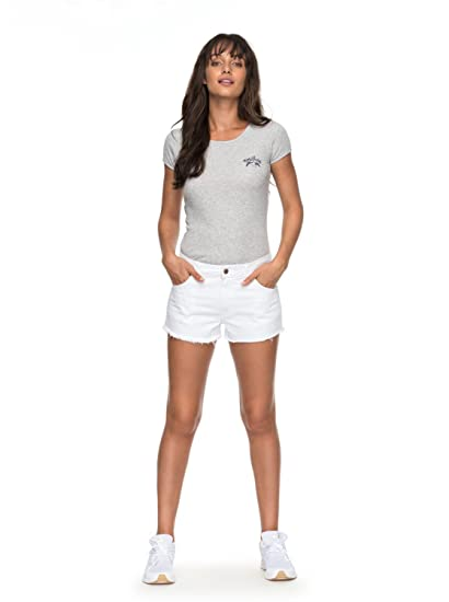 48372c7c4be Roxy Venetian Islands - Denim Shorts for Women - Denim Shorts - Women  Roxy   Amazon.co.uk  Clothing