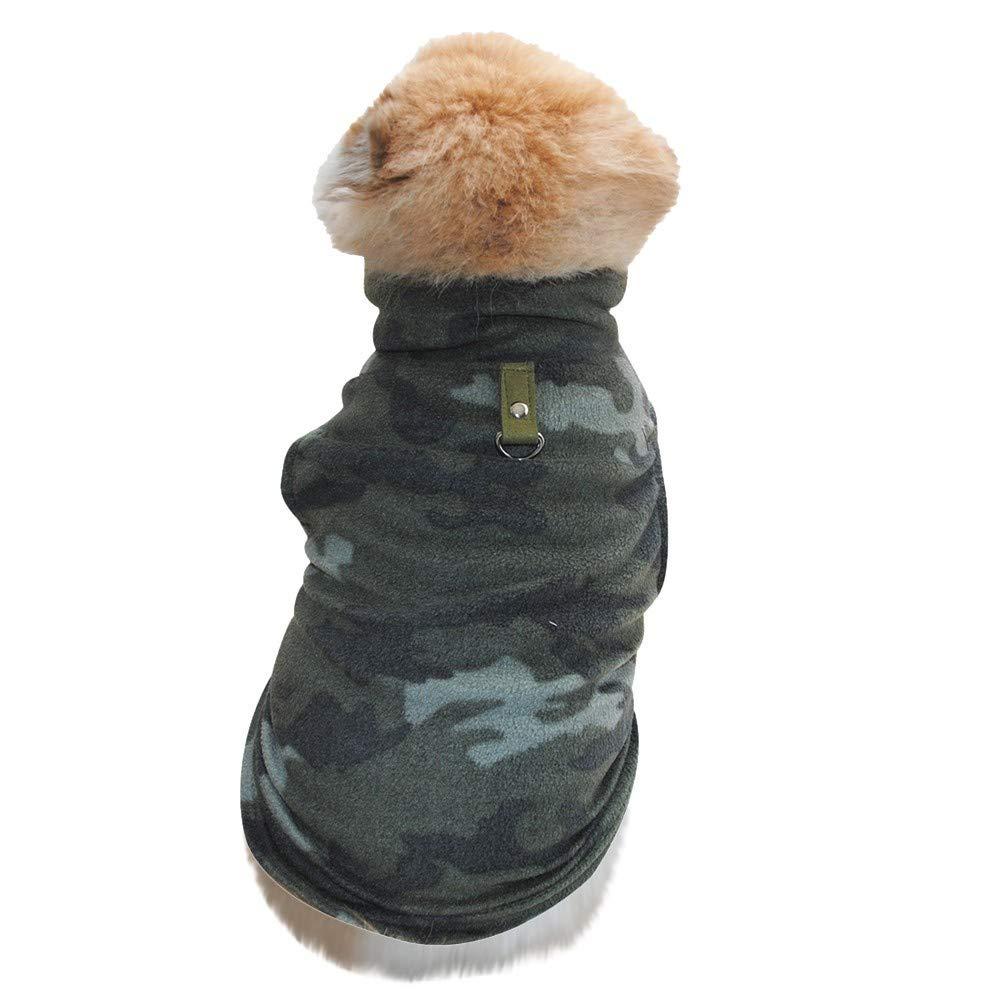 OGGID Ropa Inverno para Perro Sudadera sin Mangas para Cachorro Chaleco para Mascotas Jersey de Forro Polar Jersey Ropa Disfraz T/érmico Suave y C/álido Dise/ño Moda 7 Tallas