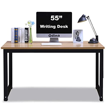Attractive Amazon.com: Writing Desk for Office and Home,55in Large Study  AP88