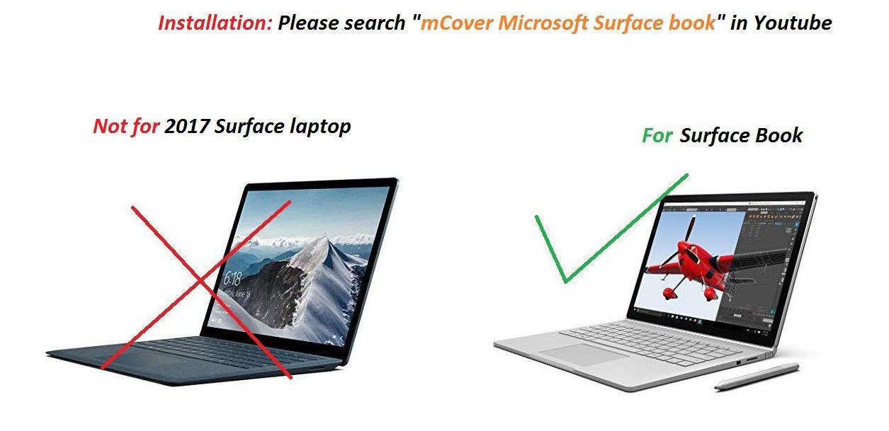 Coque mCover pour 13,5 pouces Microsoft Surface Book Ordinateur Portable  (Transparent)  Amazon.fr  Informatique 312e7e7a905