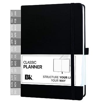 Amazon.com: Bk - Planificador clásico sin fecha con ...