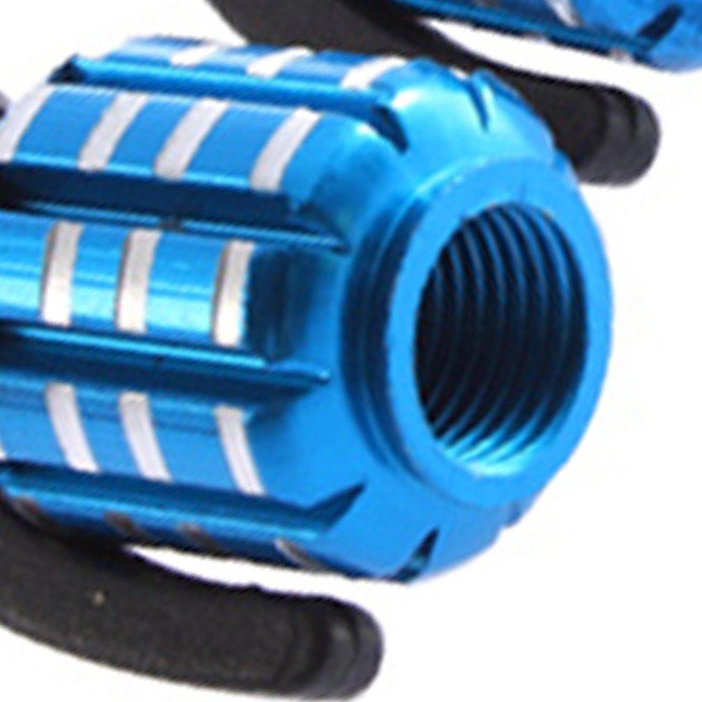 Andifany Copertura Tappo valvola a Forma di Granata Blu Auto Pneumatico della Gomma