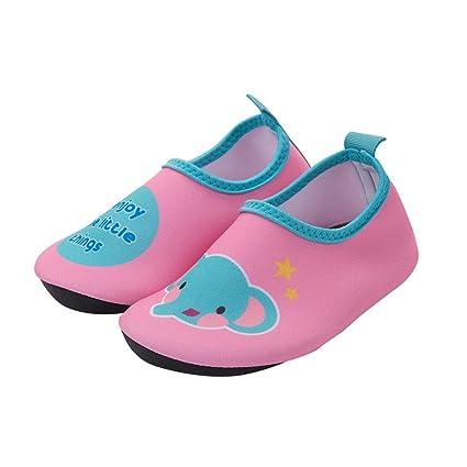 NAN Niño Niña Niño Zapatos de agua de natación Calcetines de agua descalzo Piscina de playa