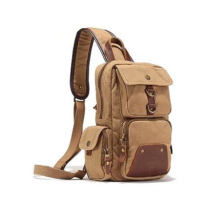 35fb121d14bc Amazon.com : Shoulder Bag Tactical Military Backpack Chest Pack ...