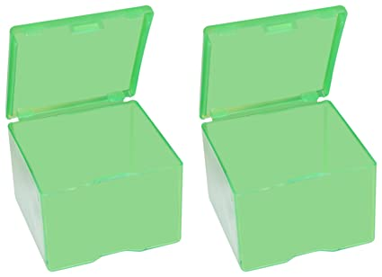 Mtm Cast Bullet Box Clear Green