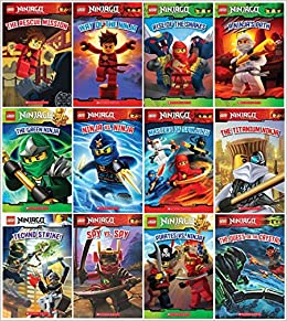 Lego Ninjago Series, Set of 12 Readers: Kate Howard Tracey ...