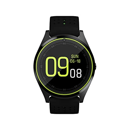 Amazon.com: Efanr V9 Bluetooth Smart Watch with Camera Sim ...