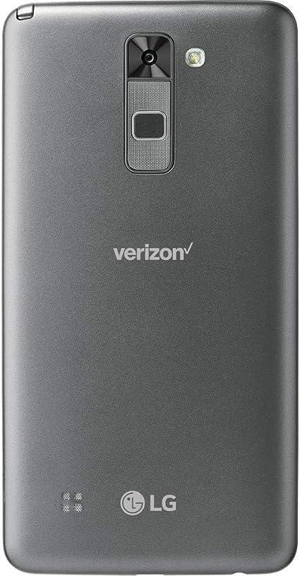 LG Stylo 2 V VS835 Verizon - Smartphone Android (16 GB, pantalla IPS HD de 5,7 pulgadas y cámara de 13 MP, color gris (renovado): Amazon.es: Electrónica