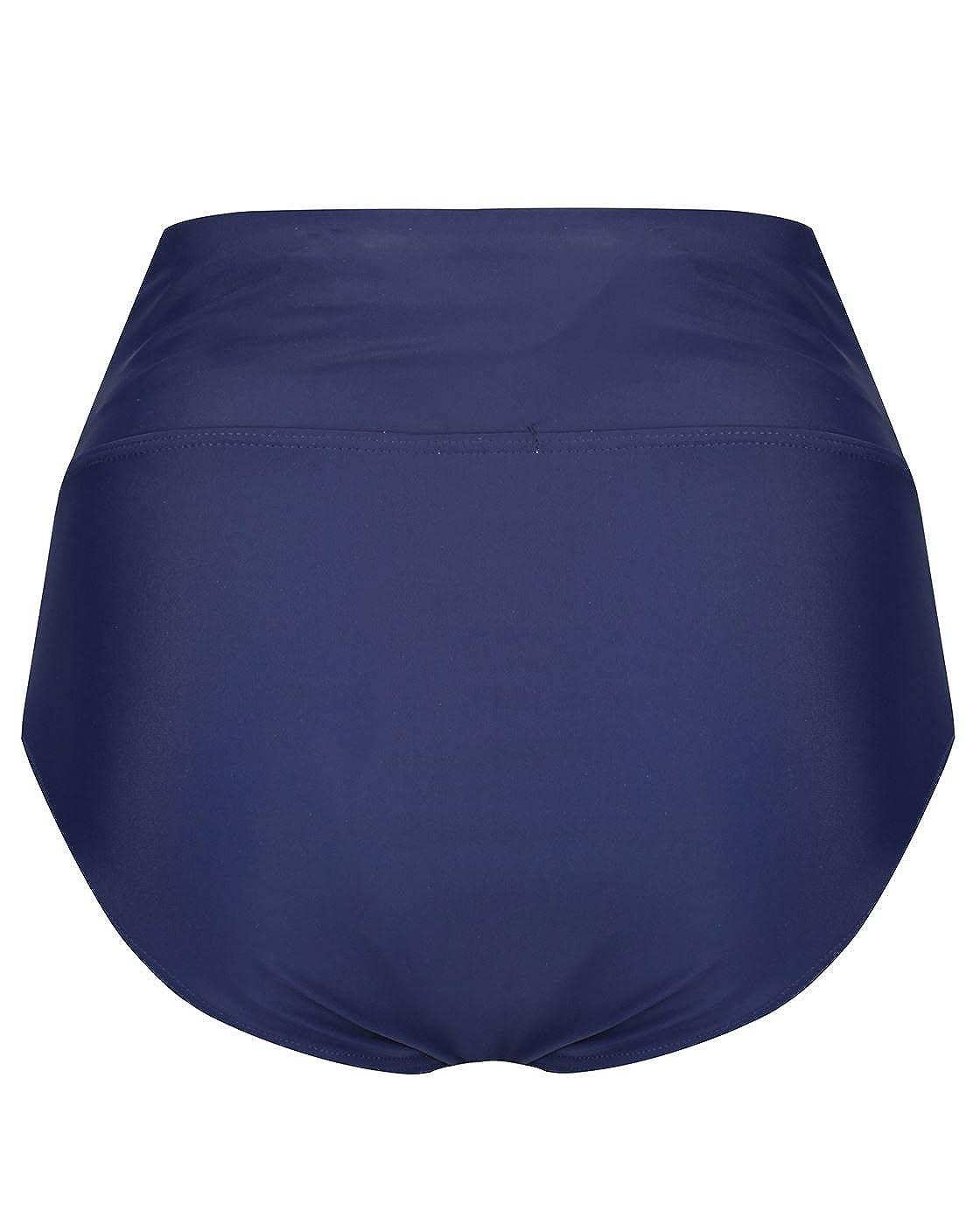 Damen Umstandsbademode Nautisch Tankini The Essential One Marineblau//Blau//Wei/ß EOM209