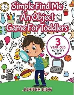 simple find me an object game for toddlers 3 year old activity book - Hidden Pictures For 3 Year Olds
