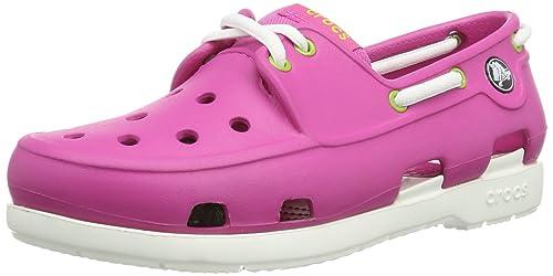 bfdc5104a Crocs - Kids Beach Line Boat Shoe Lace