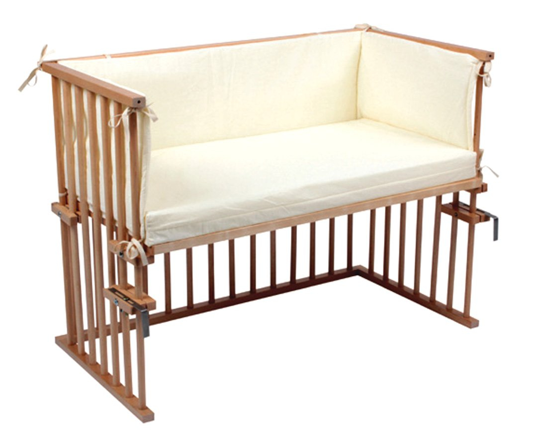 Beistellbett anstell babybett zustellbett 88 x 44 cm komplettset