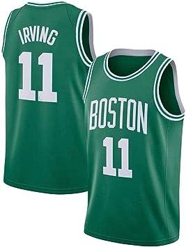 Lalagofe Kyrie Irving, Boston Celtics #11, Basket Jersey Maglia Canotta, Verde, Maglia Swingman Ricamata, Stile di Abbigliamento Sportivo (S), Hombre, One Color, extra-large: Amazon.es: Ropa y accesorios