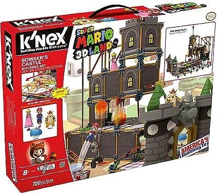 Amazon Com K Nex Super Mario Bowser S Castle Building Set
