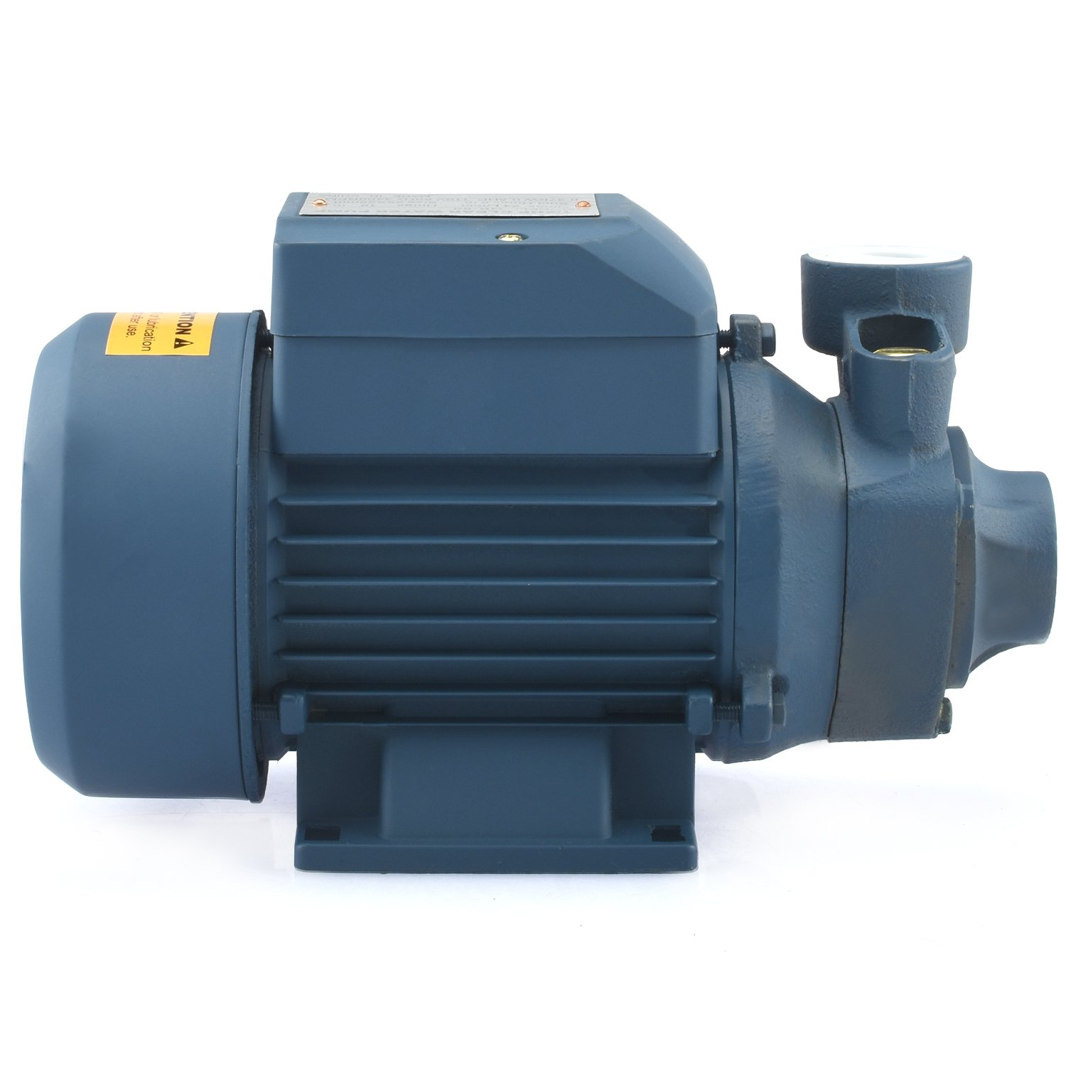 Tooluxe 50635 Electric Centrifugal Clear Water Pump, 0.5 HP | Pools, Ponds, Irrigation, Garden, Sprinkling | 380 GPH by Tooluxe (Image #4)