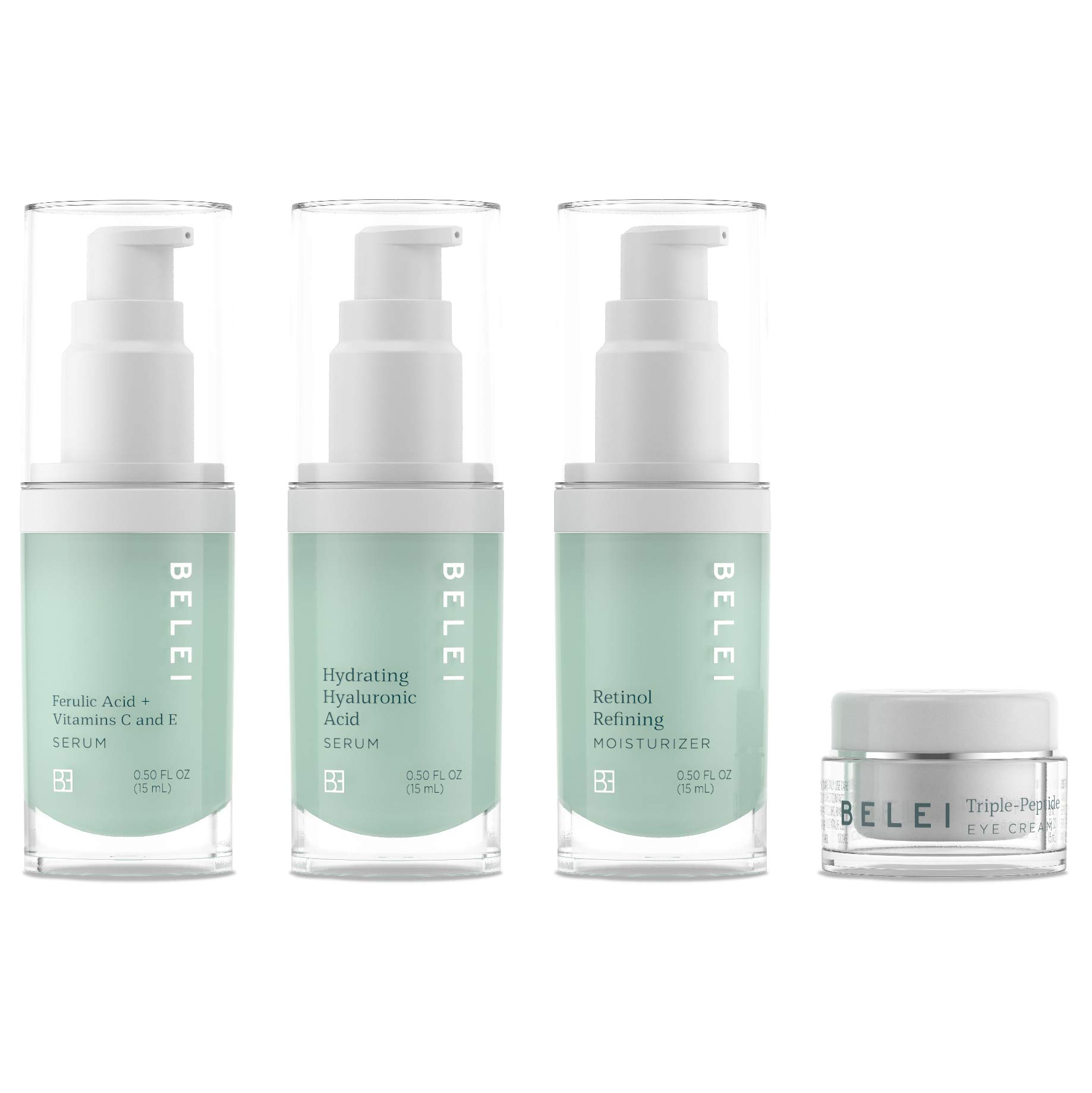 Belei Beauty Solutions Deluxe Mini-Size Skin Care Set, All Skin Types by Belei