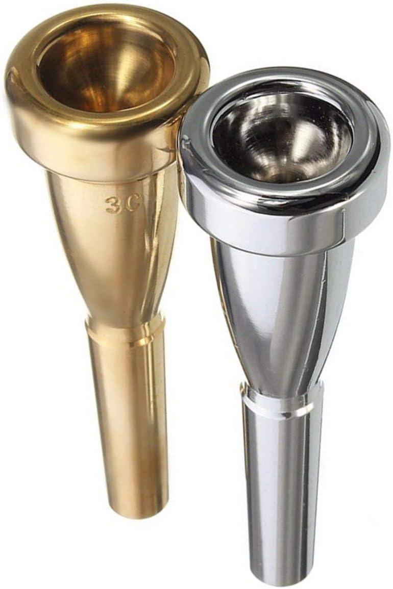 EmNarsissus Bocchino per Tromba 3C Taglia per Yamaha per bocchino per Tromba in Metallo di Bach per registro Alto e Accessori per Tromba in Do.