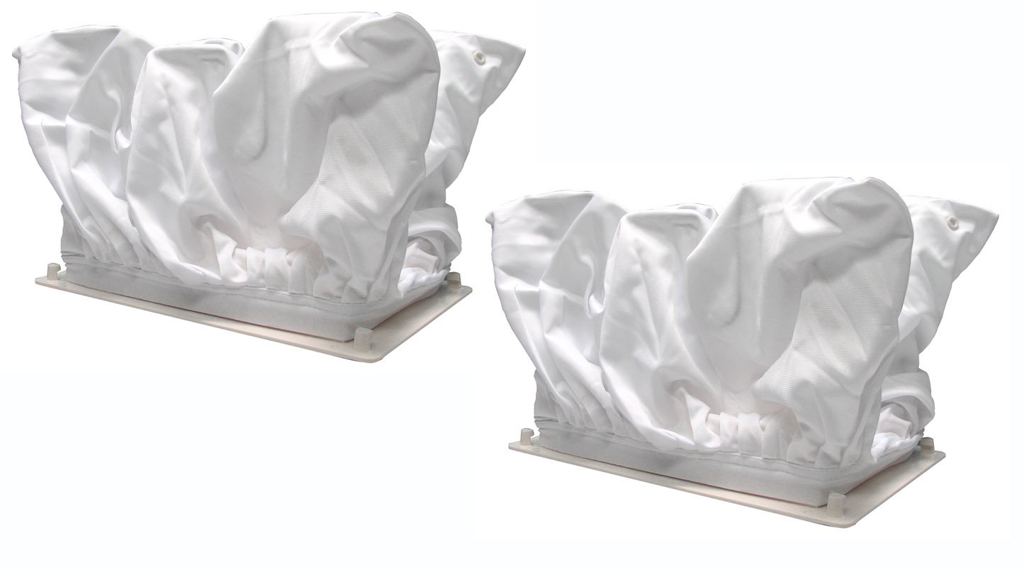 Aqua Products Economy Universal Replacement Filter Bag - 2 Pack by Blue Wave Chemicals