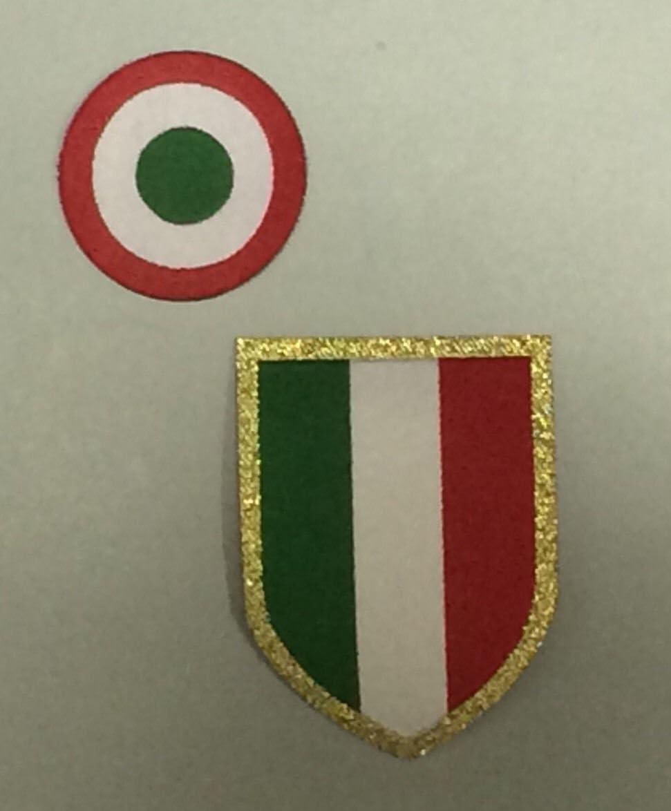 Escarapela y escudo originales 2016 - 17 para camiseta Juventus ...