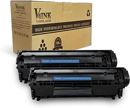 Amazon.com: V4INK paquete de 2 cartuchos de tóner FX ...