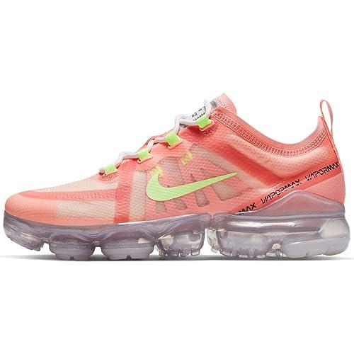 0864960958325 Amazon.com | Nike Air Vapormax 2019 Pink Tint/Barely Volt (WS) | Running