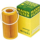 VOLVO C30 C70 S40 V50 Oil Filter Kit MANN HU719/8X NEW