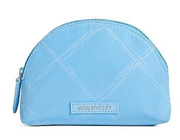 6e2db5ea2e3f Amazon.com : Vera Bradley Preppy Poly Mini Cosmetic Bag in Sky Blue ...