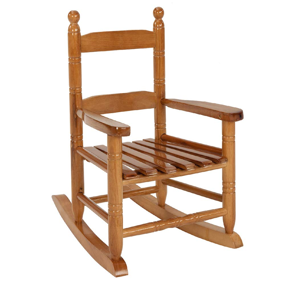 Kid's Rocking Chair Brown Tickle Toes