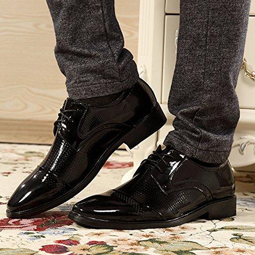 De Zapatos Zapatos Primavera De Ancha Hombre Hombres Zapatos Cabeza Negocios De Black Los De De fwaqAACnxd