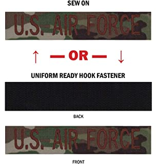 Amazon com: Northern Safari Custom Uniform Name Tapes, 50 Fabrics