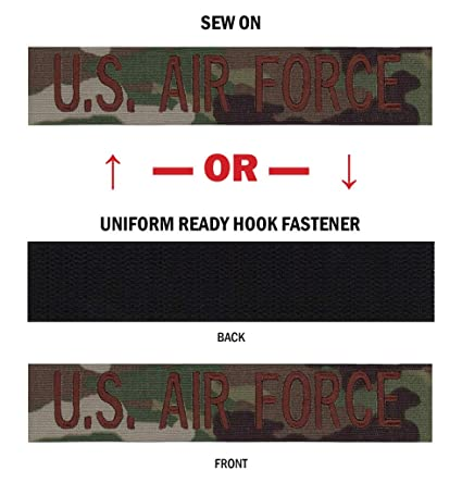 Northern Safari Branch Military Name Tapes, Multiple Sizes, Same Day Ship,  Wisconsin Made