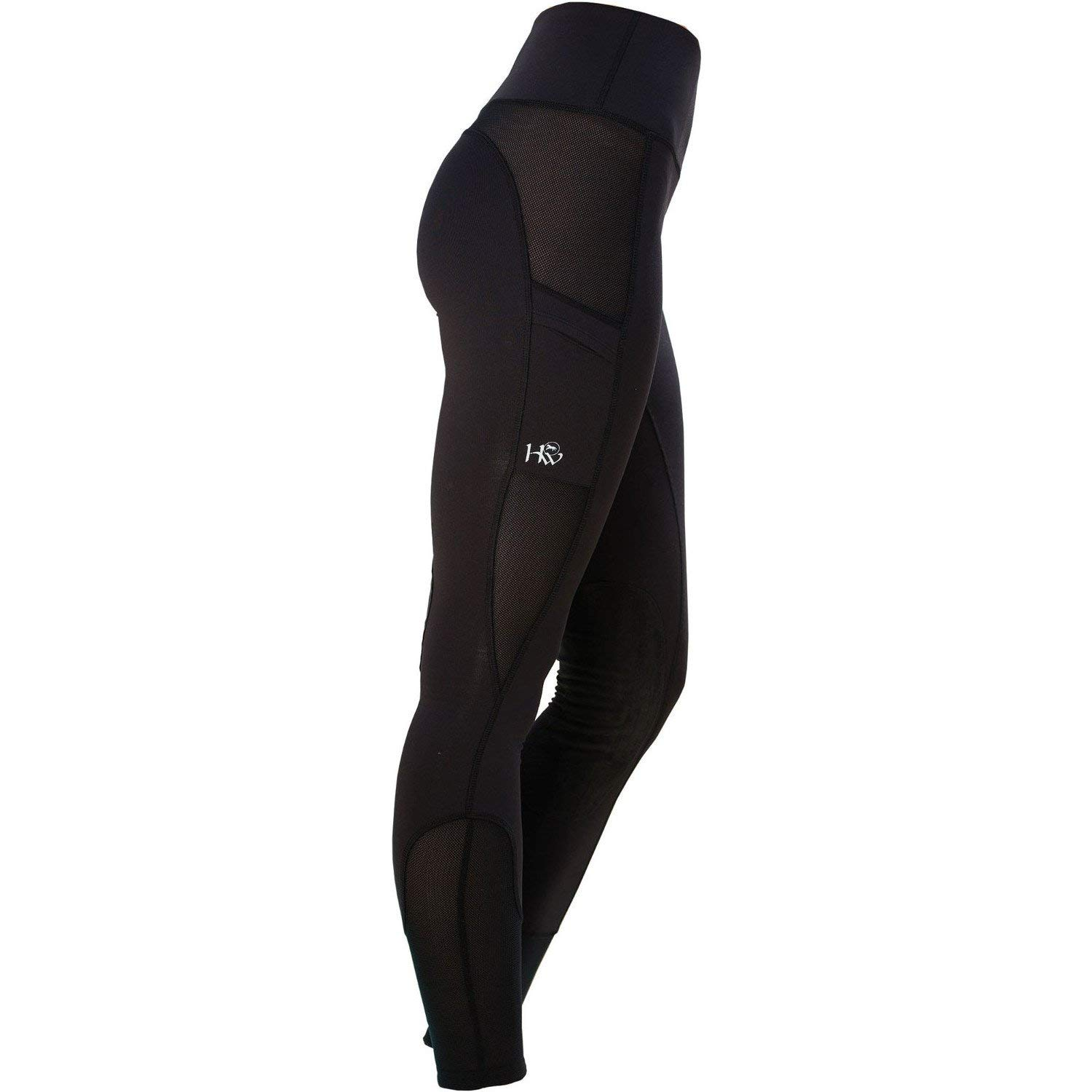 (XX-Small, Black) - Horseware Womens Riding Tights - Black   B0735H8BKX