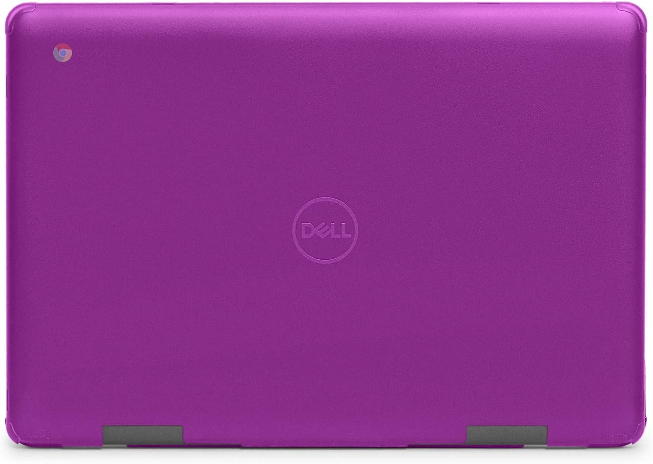 """mCover Hard Shell Case for 2019 14"""" Dell Chromebook 14 3400 (180-degree Hinge) Laptop (NOT Compatible with C11 3181/3100 2in1, 210/3120/3180/3189/5190 Series) (Purple)"""