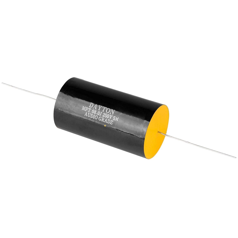 Dayton Audio DMPC-68 68uF 250V Polypropylene Capacitor 4330141092