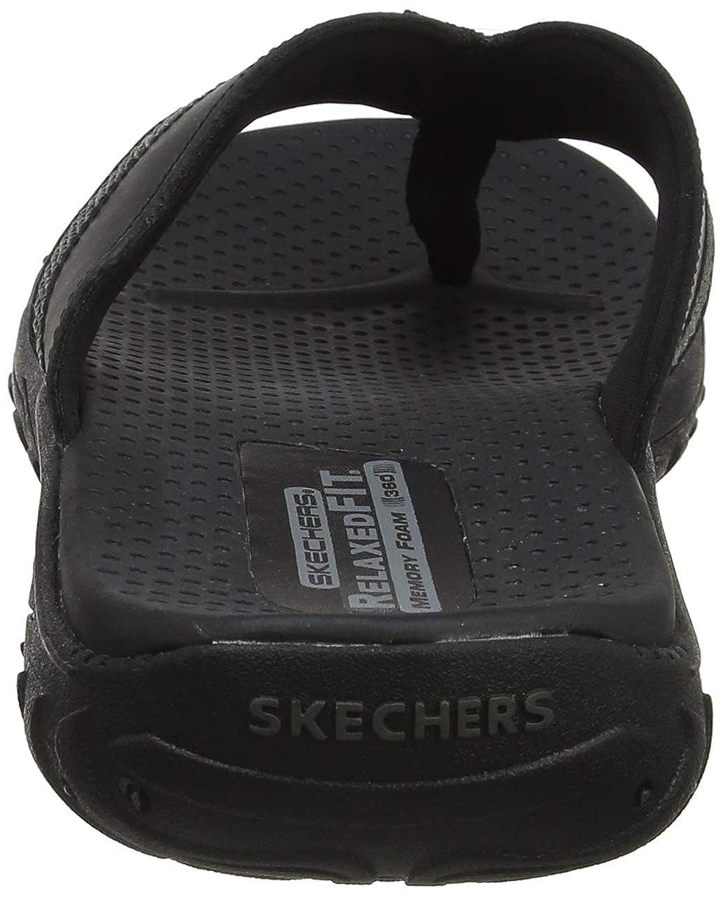 169954de9 Skechers Men s Reggae-cobano Flip Flops  Amazon.co.uk  Shoes   Bags