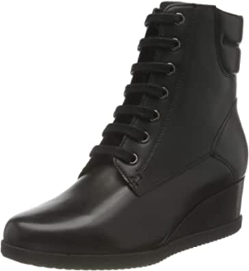 Geox D Anylla Wedge E, Ankle Boot Mujer