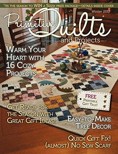 Magazines : Primitive Quilts and Projects Magazine