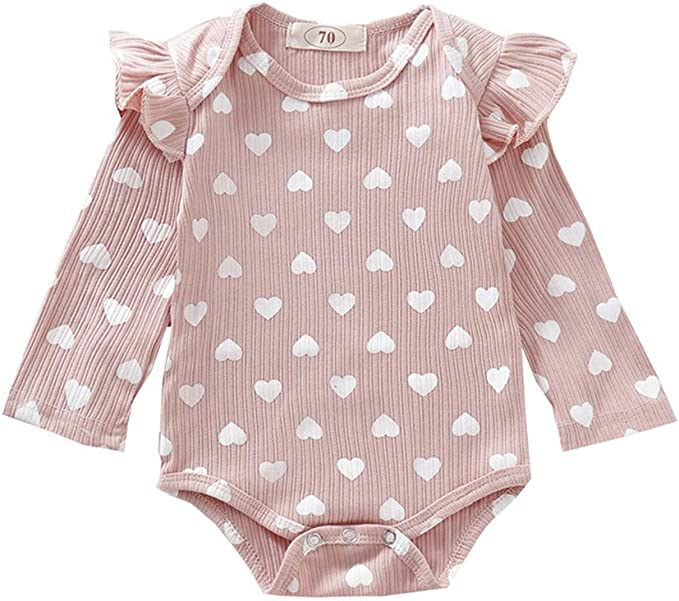 UK Sell Newborn Infant Baby Boy Girl Long Sleeve Romper Clothes Outfit Playsuit