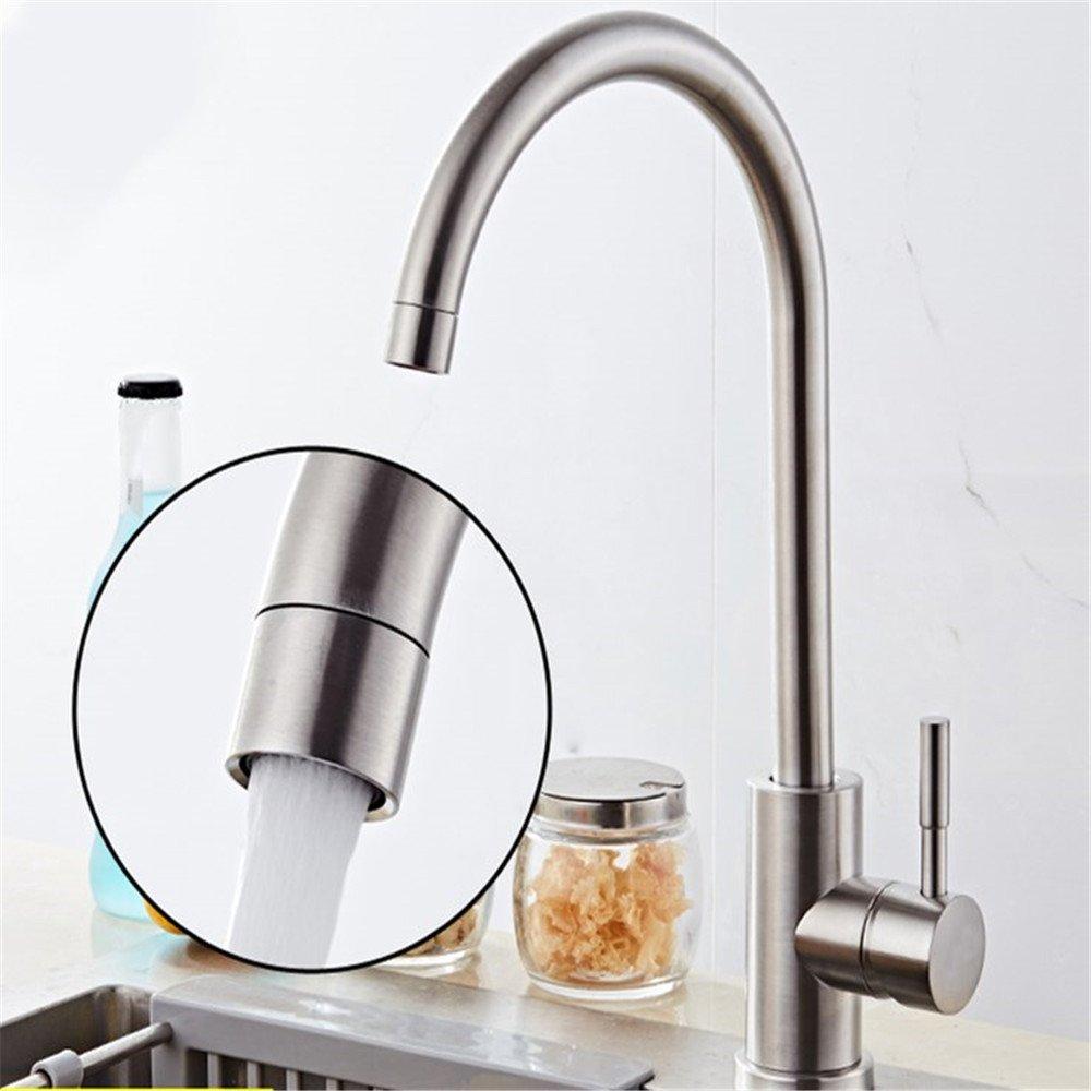 T-TSLT Kupfer küchenarmatur 304 edelstahl heiß und kalt waschbecken waschbecken wasserhahn