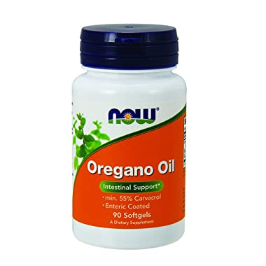 NOW Supplements, Oregano Oil, Enteric Coated, 90 Softgels