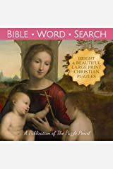 Bible Word Search: Large Print Puzzle Book for Christian Adults and Families Paperback