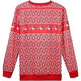 Hsctek Llama Ugly Christmas Sweater, Funny Xmas