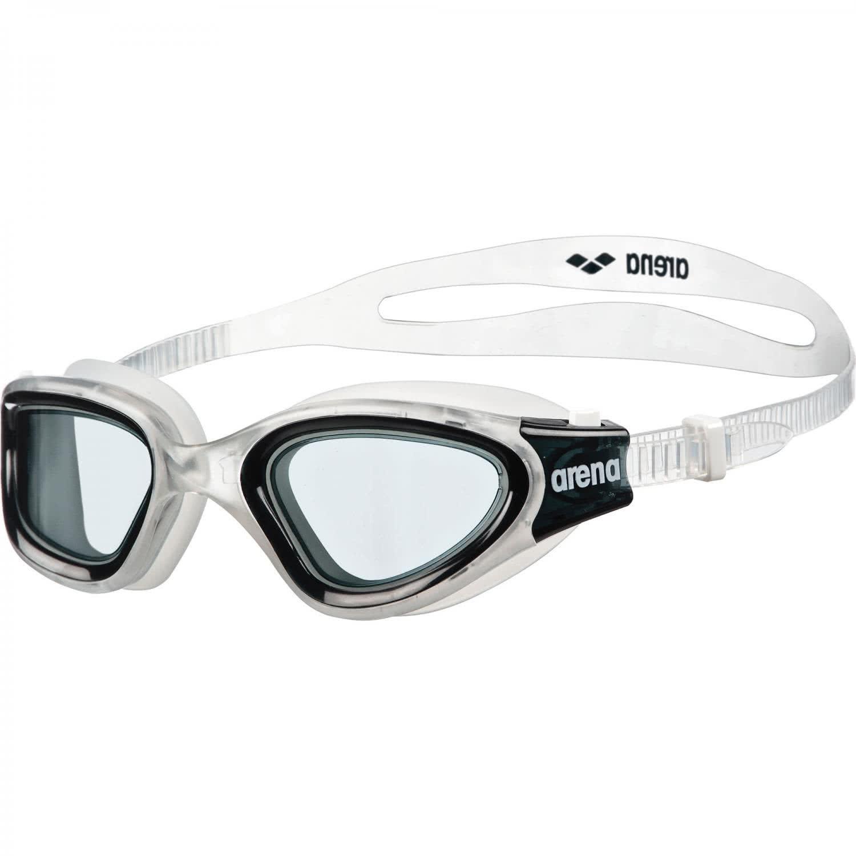 Excelentes gafas unisex de natación conmontura transparentes.