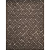 Cheap Safavieh Tunisia Collection TUN1511-KKH Dark Brown Area Rug, 9 feet by 12 feet (9′ x 12′)