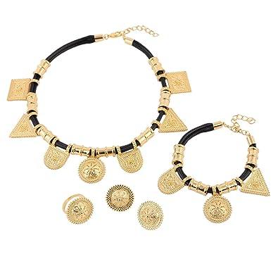 Amazoncom Wholesale Eritrea Habesha Ethiopian Jewelry 24k Gold